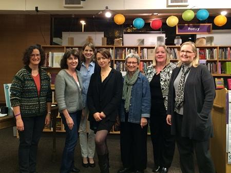 Jo Baker event at University Bookstore 2013