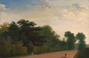 Kensington Gardens by John Martin (1789-1854)