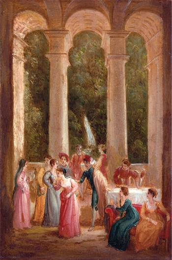 The Dance by Tomas Stothard (1755-1838)