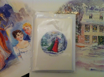 Jane Austen cards by Jane Odiwe design 1