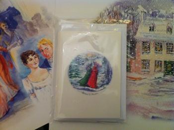 Jane Austen cards by Jane Odiwe design 1