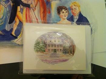 Steventon Rectory cards by Jane Odiwe design 2