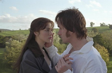 Lizzy and Darcy in a field PandP (2005)