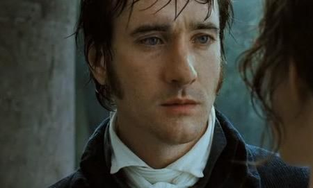 Matthew Macfadyen as Mr Darcy in the rain PandP 2005