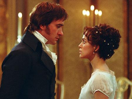 Mr. Darcy and Elizabeth Bennet dance in Pride and Prejudice 2005