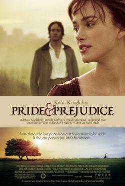 Pride and Prejudice 2005 poster
