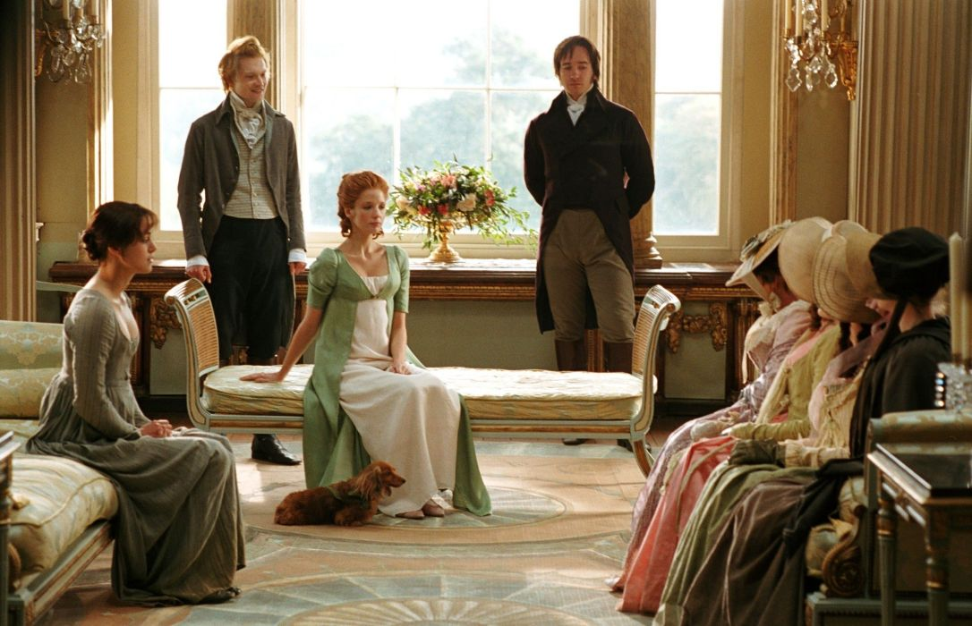 Pride and Prejudice 2005 a visit to Netherfield