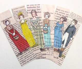 Jane Austen Book Marks by TheCastleOnTheHill