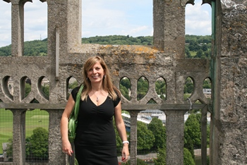 Author Karen Doornebos in Bath (2012)