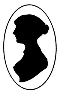 Silhouette of Jane Austen