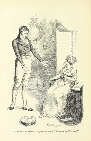 Pride and Prejudice Brock illustration