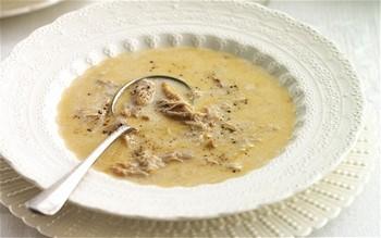 White soup