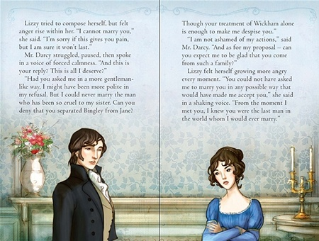 Pride and Prejudice, Usborne, First Proposal (2011)