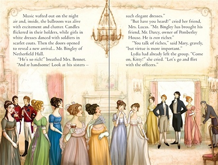 Pride and Prejudice, Usborne, Meryton Assembly (2011)