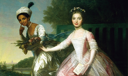Lady Elizabeth Murray and Dido Belle, once attributed to Zoffany 1779
