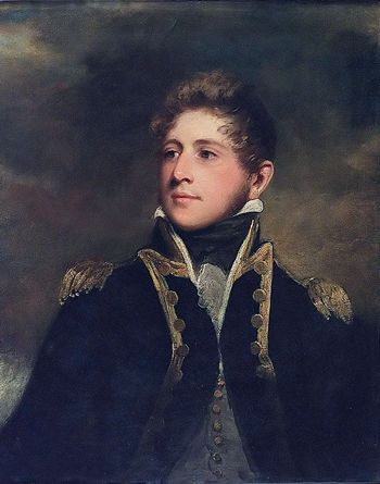 Captain Peter Parker (1785-1814) by John Hoppner