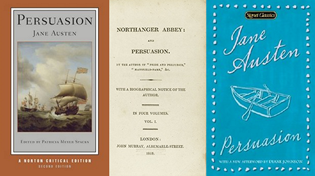 Persuasion by Jane Austen banner