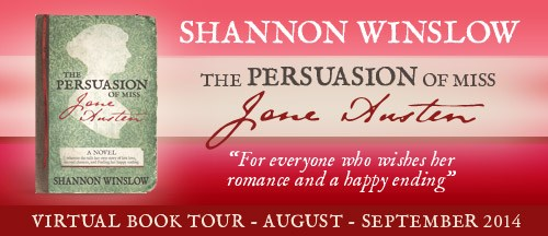 The Persuasion of Miss Jane Austen banner x 500