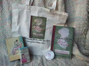 The Persuasion of Miss Jane Austen tote bag giveaway