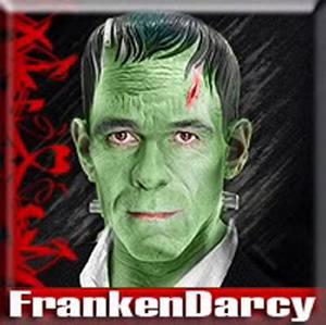 FrankenDarcy - actor David Rintoul transformed by Bonnie Carasso