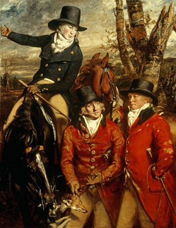 Heathcoastes of Hurley Park by Sir Willaim Daniel Gardner 1790