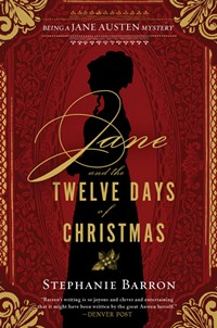 Jane and the Twleve Days of Christmas by Stephanie Barron 2014 x 200