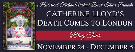 Death Comes to London Blog Tour Banner
