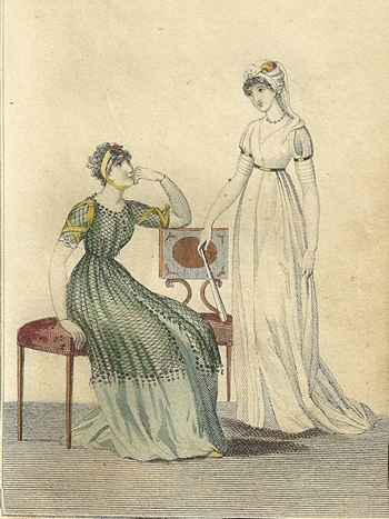 Ladies Monthly Museum Aug 1798