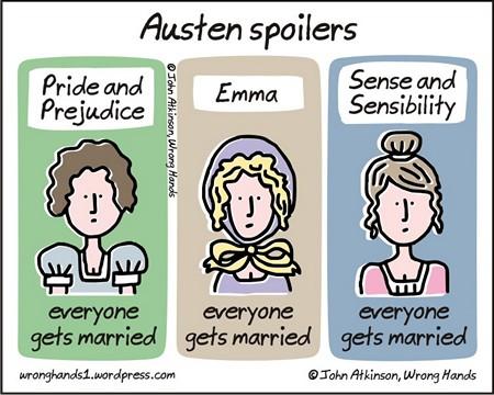 Austen Spoilers graphic by John of Wrong Hands