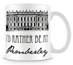 I's Rather be at Pemberley Mug x 250