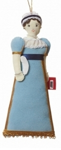 Jane Austen Christmas Tree Ornament x 418