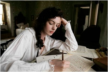 Jane Austen in Becoming Jane x 350