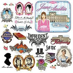 Jane Austen Tattoos x 250