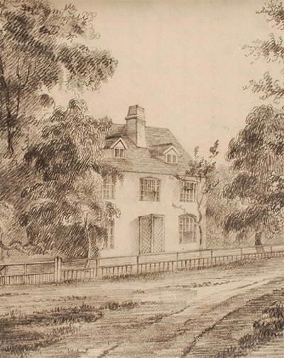 Illustration of Steventon Rectory