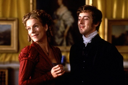 EMMA 1996 Juliet Stevenson and Alan Cummings as Mr and Mrs. Elton