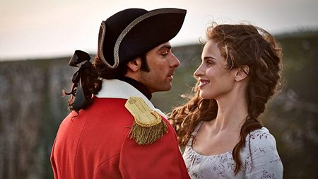 Poldark Season One, Aidan Turner and Heida Reed x 450