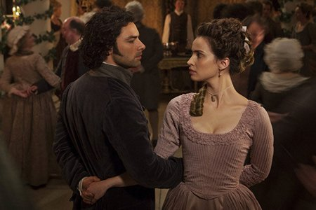 Poldark Season One Aidan Turner and Heida Reed