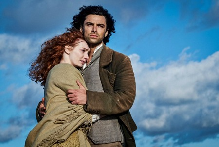 Poldark Season One Eleanor Tomlinson and Aidan Turner (2015)