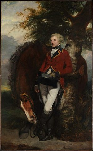 Captain George K. H. Coussmaker by Joshua Reynolds (1782)