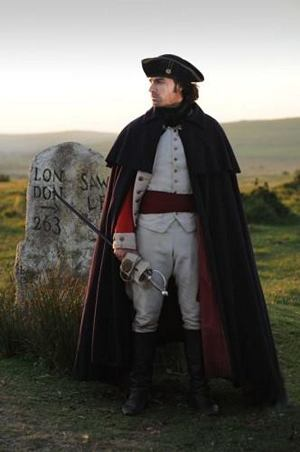 Captain Ross Poldark in his regimentals