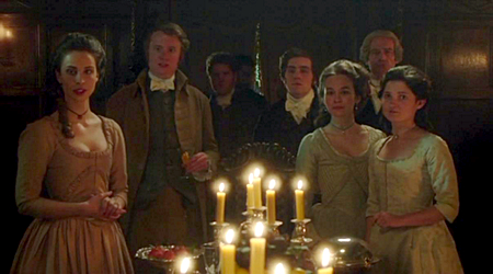 Christmas dinner at Trenwith. Poldark (2015)