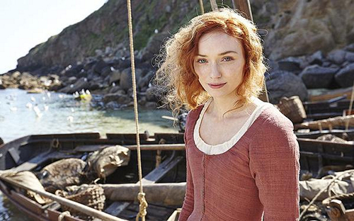 Eleanor Tomlinson as Demelza in Episode 4 of Poldark (2015)
