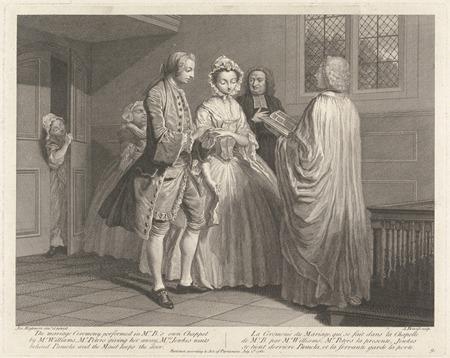 Illustration to Samuel Richardson's 'Life of Pamela' by Joseph Highmore, 1762, (c) Yale University