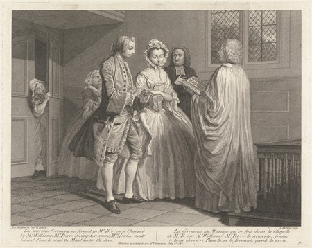 Illustration to Samuel Richardson's 'Life of Pamela' by Joseph Highmore, 1762, (c) Yale University