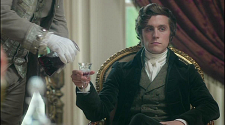 Jack Farthing as George Warleggan in Poldark (2015 )
