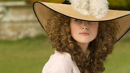 Image of Georgiana Cavendish, Duchess of Devonshire (Keira Knigtley) in The Duchess (2008) Qwerty Films.