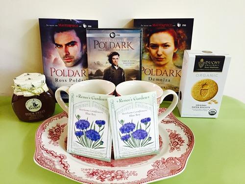 Poldark Blog Tour Giveaway Prizes