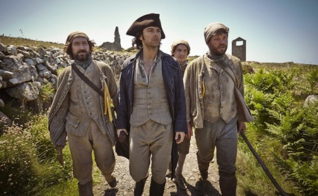 Poldark Season One Ep 3 Ross with miners