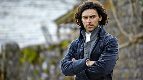 Aidan Turner as Ross Poldark (2015)