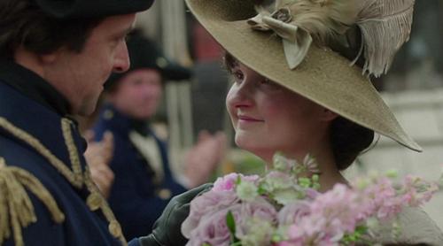 Verity (Ruby Bentall) marries Captain Blamey (Richard Harrington) in Poldark. Image (c) 2015 Mammoth Screen, Ltd. for Masterpiece PBS